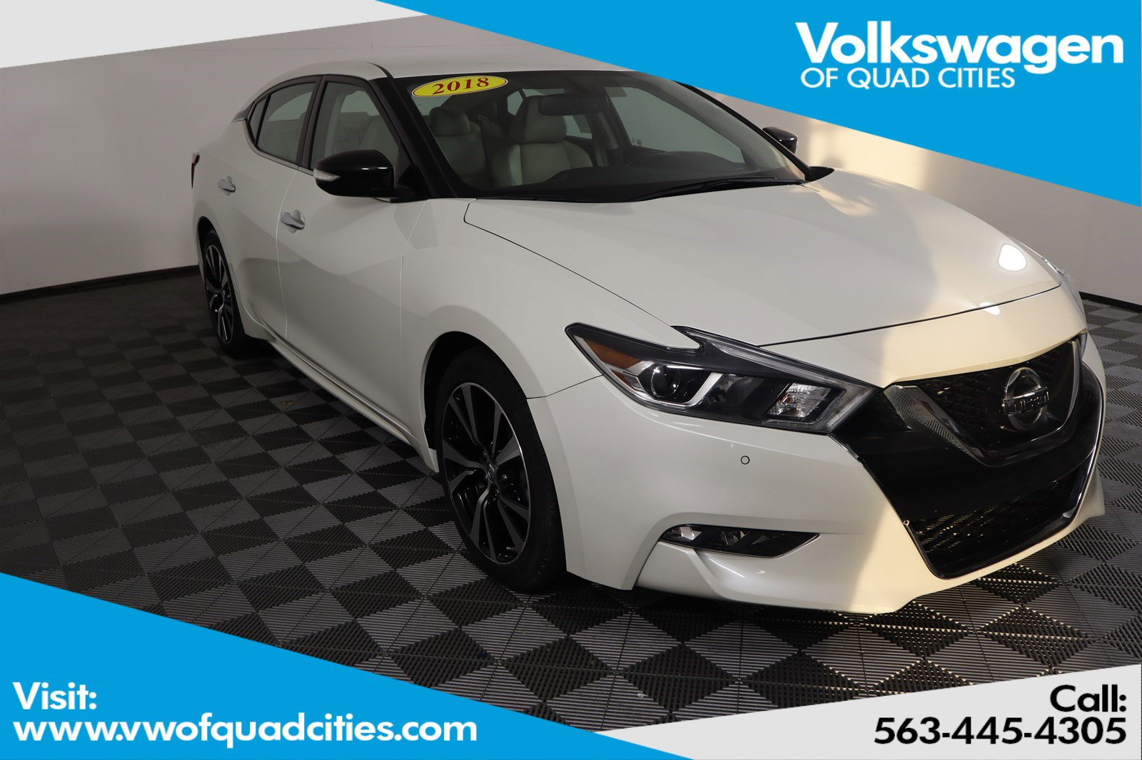 Pre-Owned 2018 Nissan Maxima SV