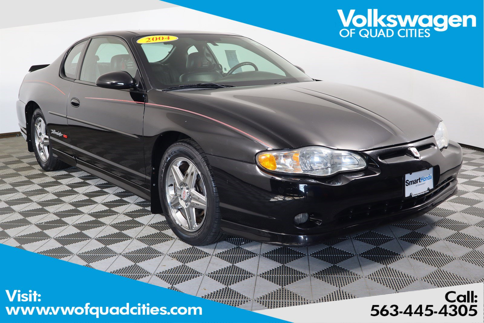 Pre-Owned 2004 Chevrolet Monte Carlo SS Supercharged