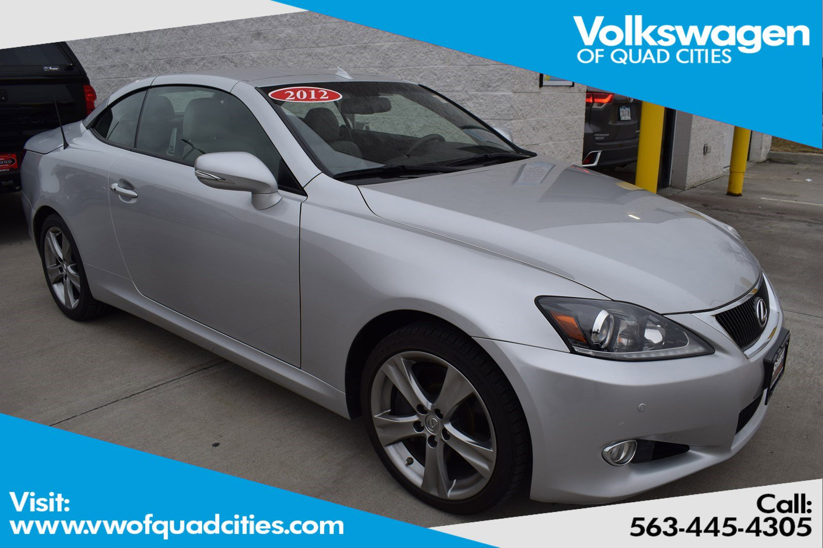 Pre-Owned 2012 Lexus IS 350C 350 C