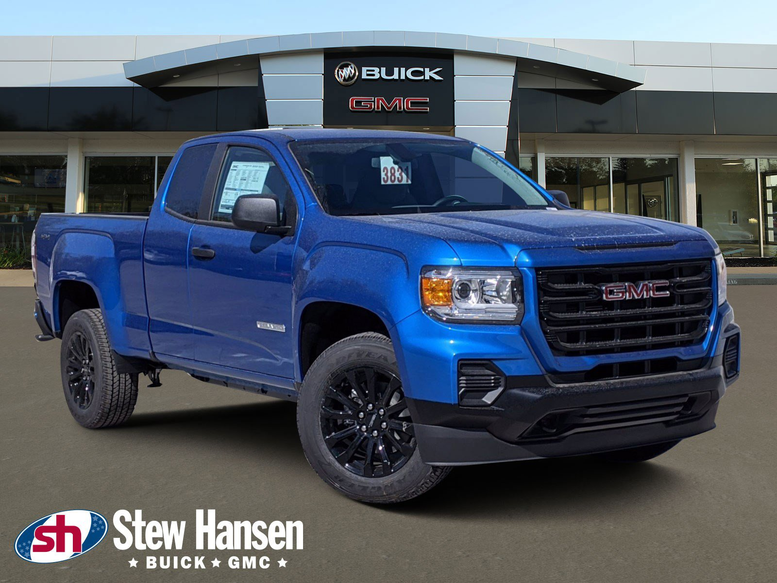 New 2021 Gmc Canyon 4wd Elevation Standard Extended Cab Pickup 21c1190 Ken Garff Automotive Group
