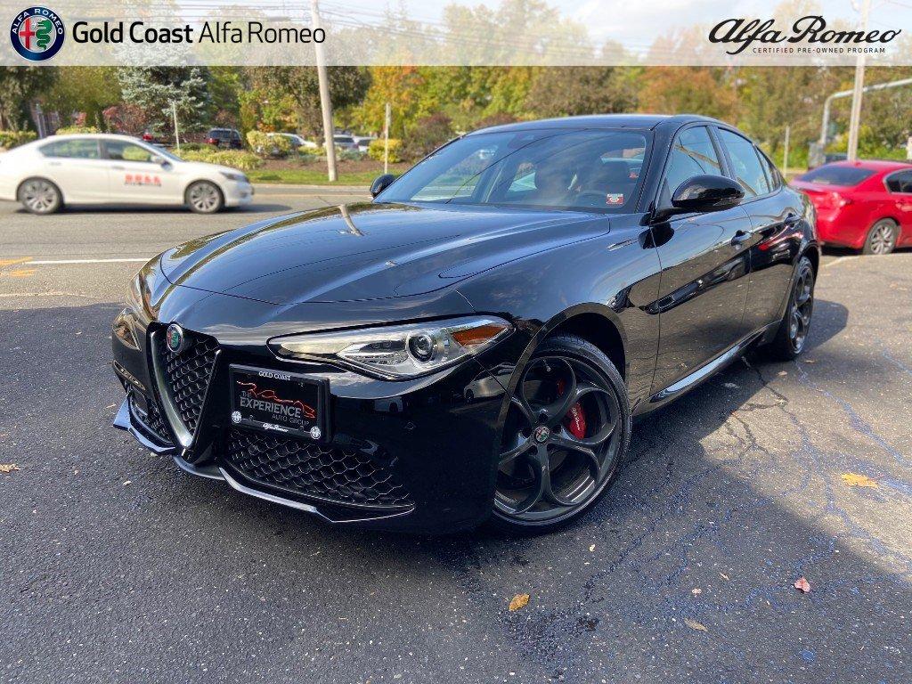 Certified Pre-Owned 2019 Alfa Romeo Giulia Ti Sport