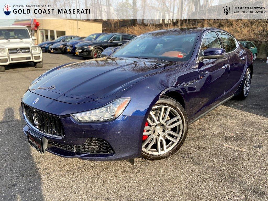 Certified Pre-Owned 2017 Maserati Ghibli S Q4