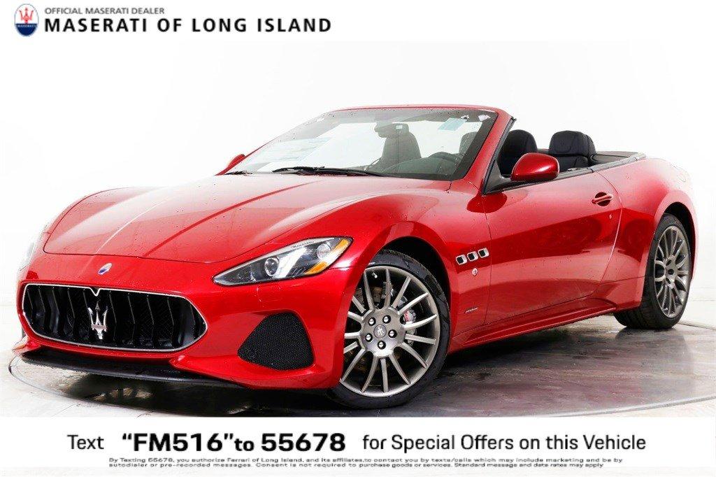New 2019 Maserati GranTurismo Convertible