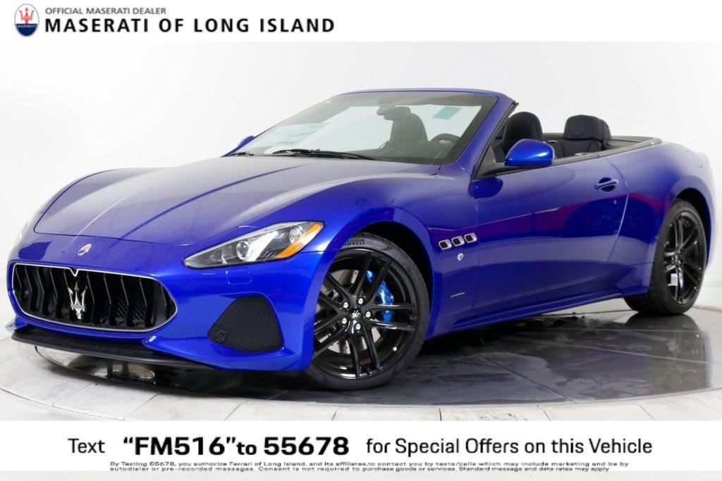 New 2019 Maserati GranTurismo Convertible Sport