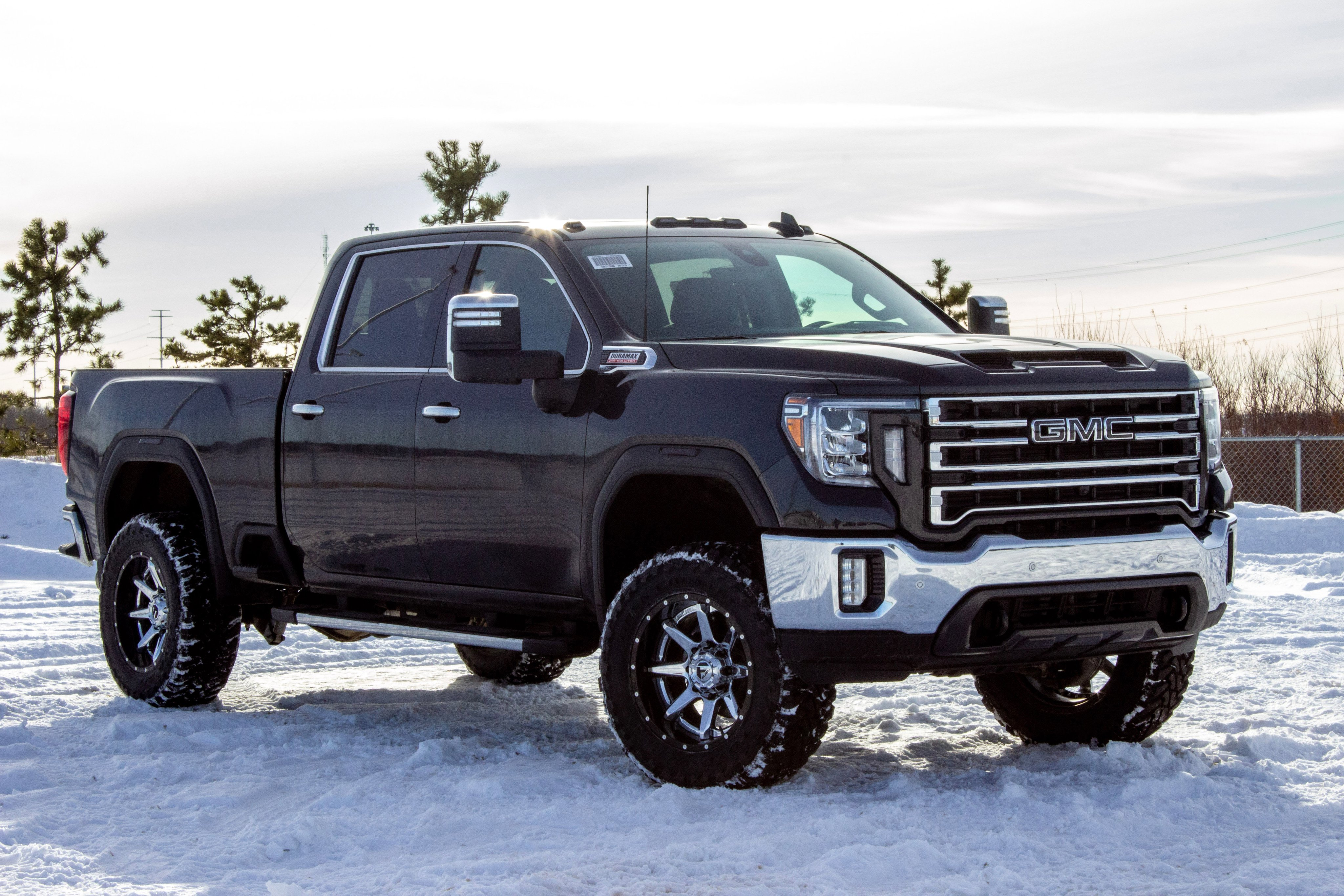 New 2020 GMC Sierra 2500HD 3.5IN RC LIFT | 35IN TOYO TIRES | 20IN FUEL RAMPAG 4x4 Truck Crew Cab