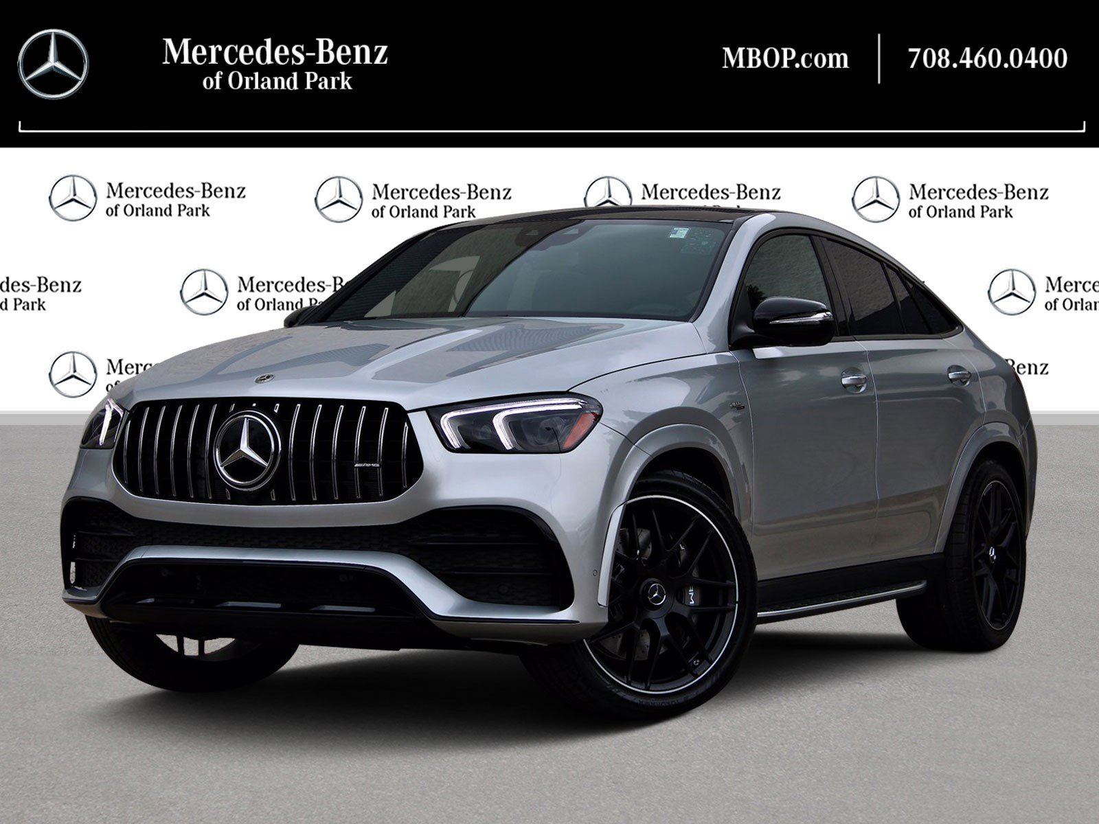 New 2021 Mercedes Benz Gle Amg Gle 53 4matic Coupe Coupe In Orland Park Mb12784 Mercedes Benz Of Orland Park