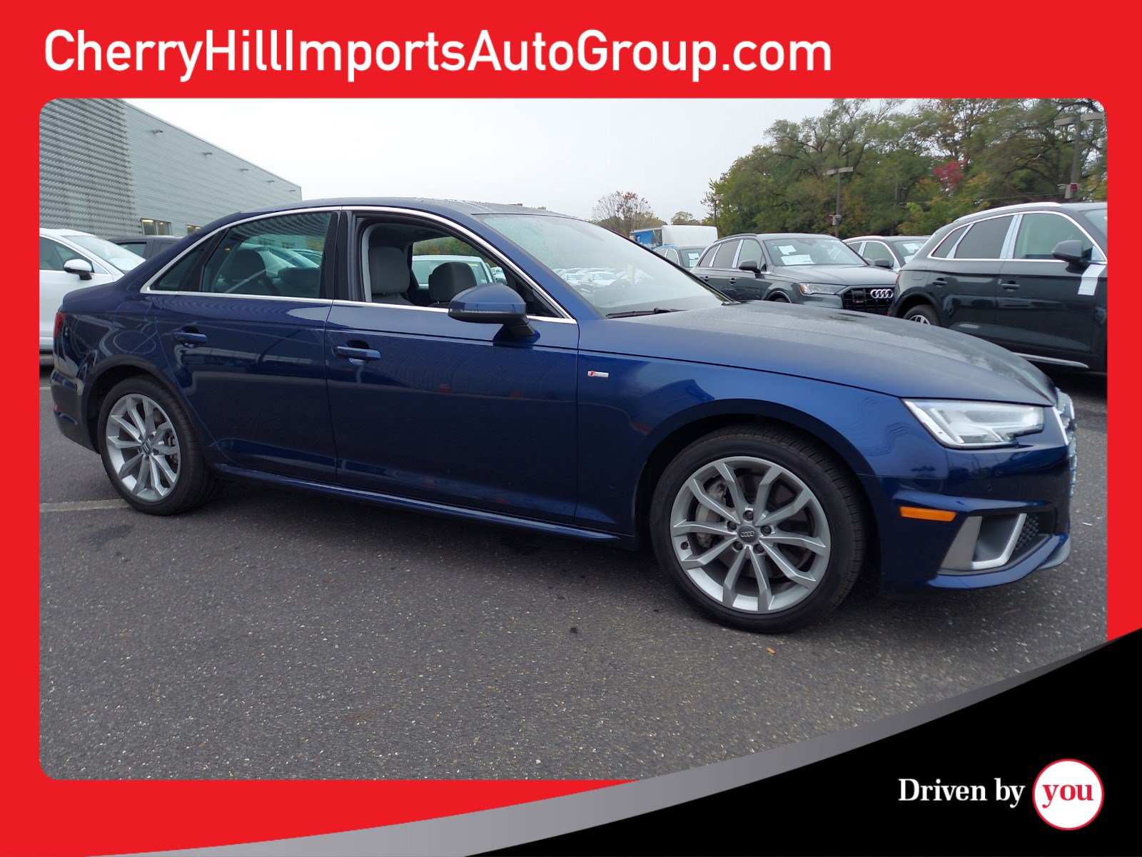 Certified Pre-Owned 2019 Audi A4 Premium Plus AWD 4dr Car