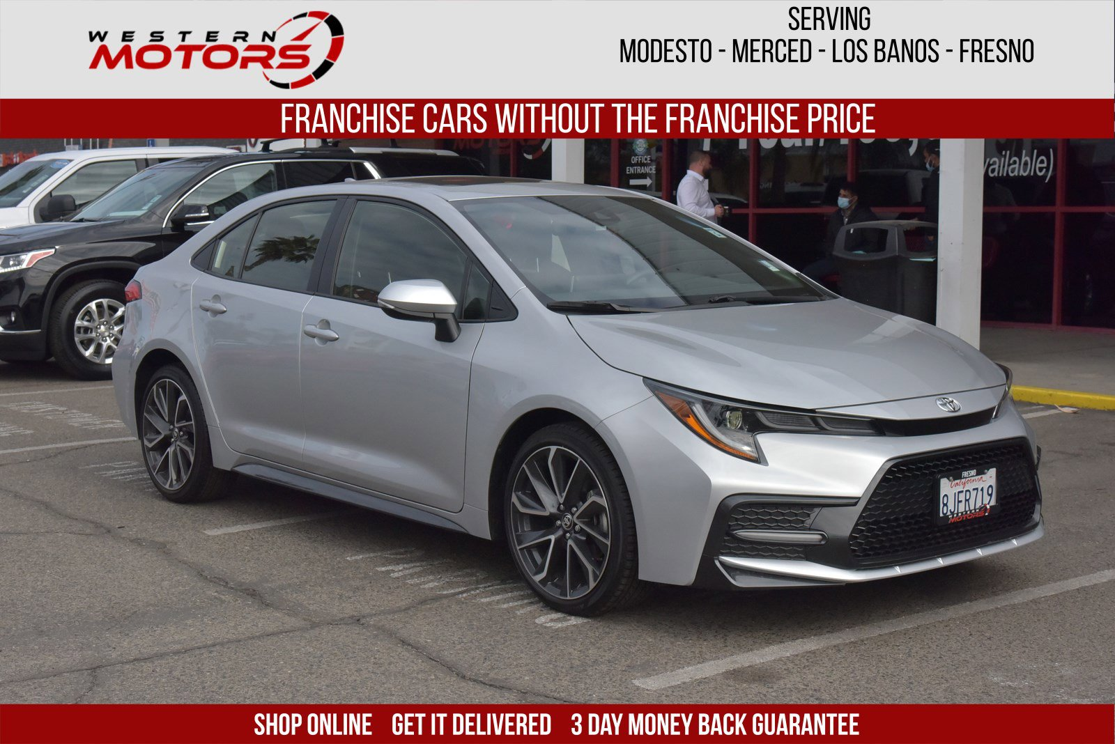 Pre-Owned 2020 Toyota Corolla SE FWD 4dr Car
