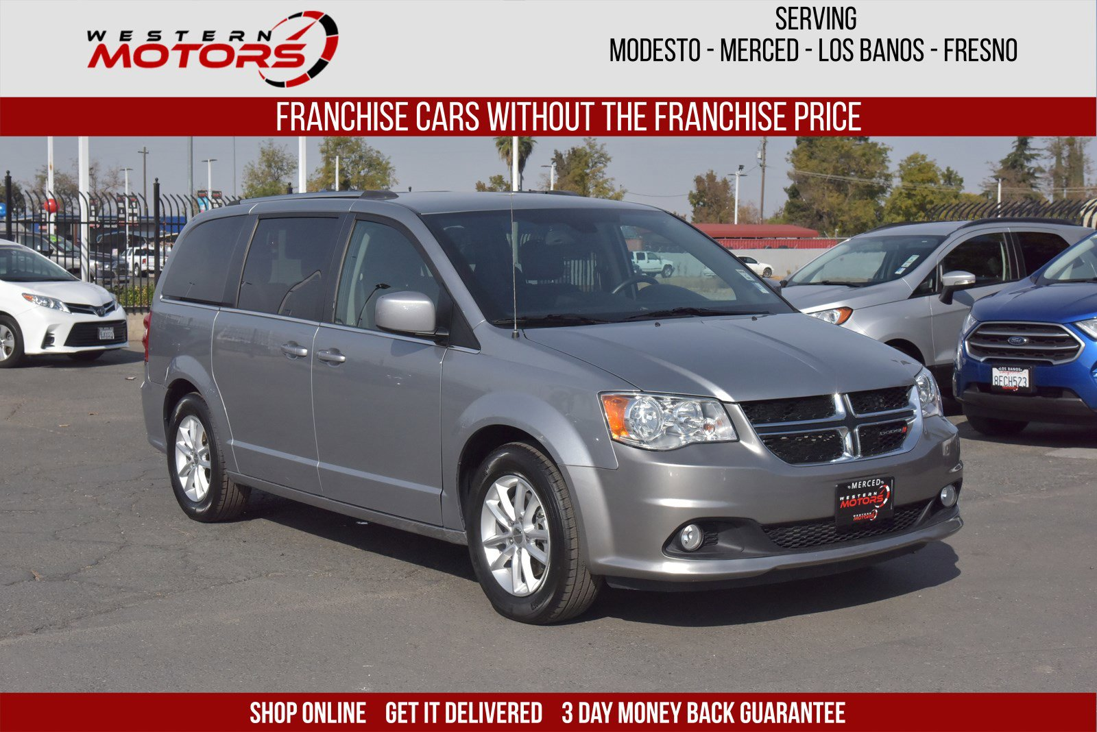 Pre-Owned 2019 Dodge Grand Caravan SXT FWD Mini-van, Passenger