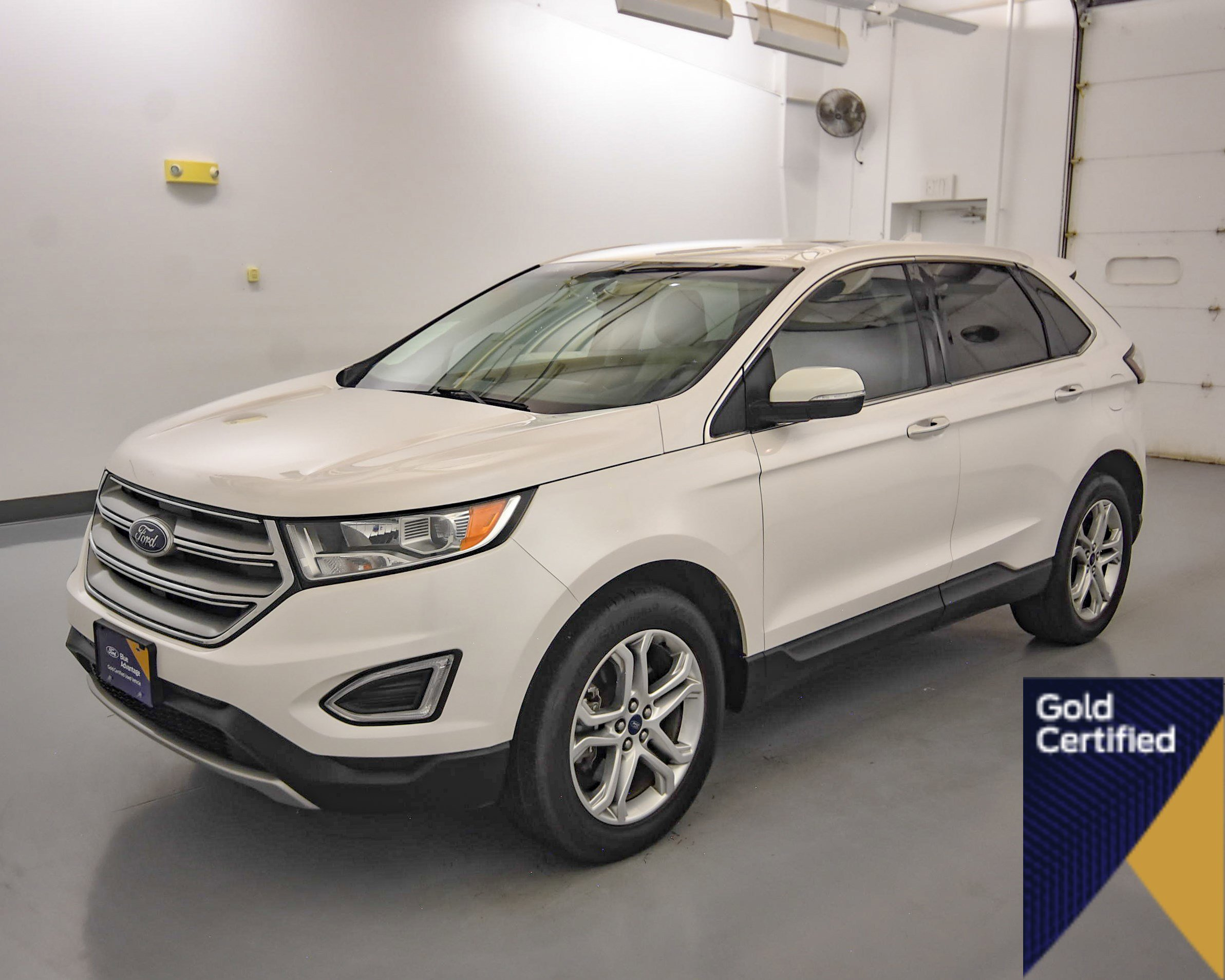 Certified Pre-Owned 2018 Ford Edge Titanium AWD Sport Utility