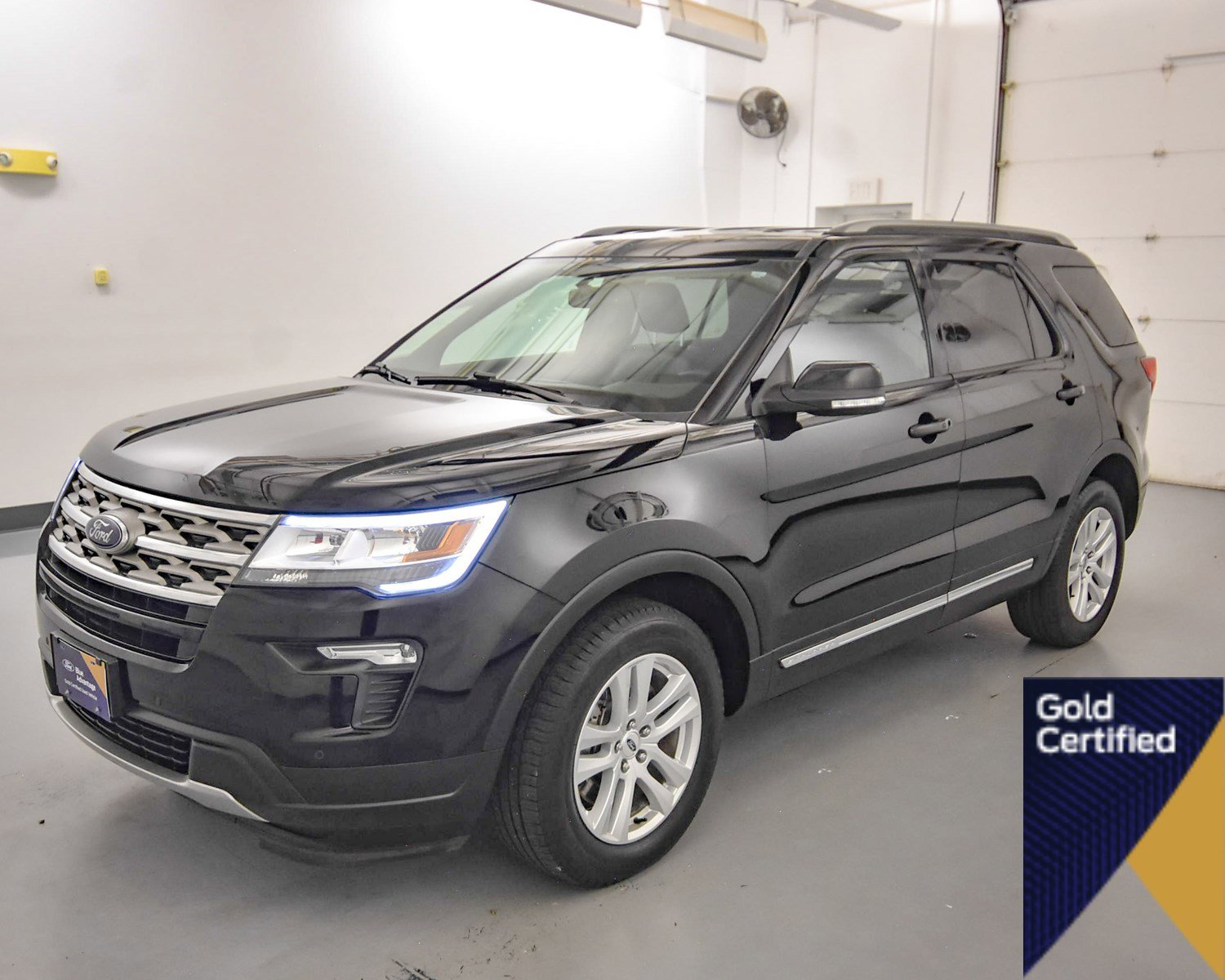 Certified Pre-Owned 2018 Ford Explorer XLT 4WD Sport Utility