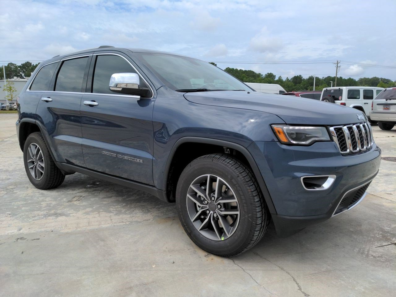 New 2021 JEEP Grand Cherokee Limited