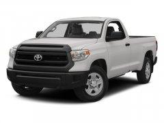 2014 Toyota Tundra 2WD Truck Reg Cab LB 4.0L V6 5-Spd AT SR 4.0 L V 6