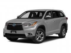 2015 Toyota Highlander Hybrid 4WD 4dr Limited Platinum