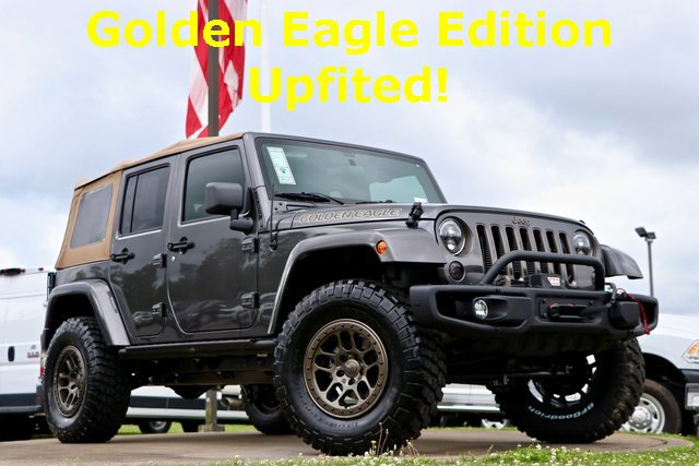2018 Jeep Wrangler JK Unlimited Golden Eagle