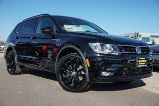 New 2021 Volkswagen Tiguan 2.0T SE R-Line Black FWD Sport Utility