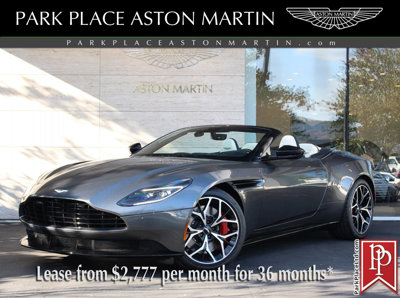 New 2019 Aston Martin DB11 2-Door Convertible