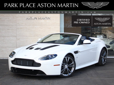 Used 2015 Aston Martin V12 Vantage 2dr Conv S