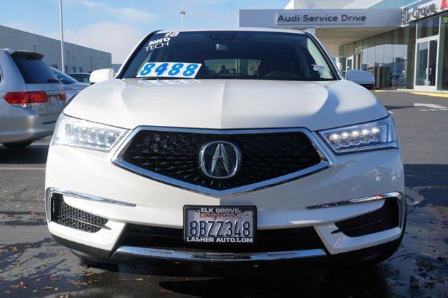 Used 2018 Acura MDX SH-AWD w-Technology Pkg