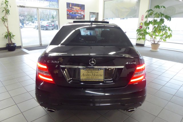 2013 Mercedes-Benz C300 4MATIC AMG Sport Package Sedan