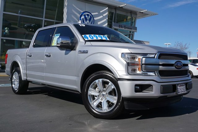 Used 2019 Ford F-150 Platinum 2WD SuperCrew 5.5' Box