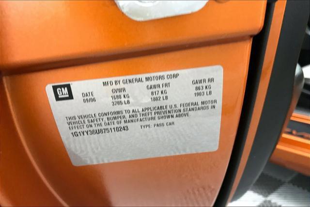 Used 2007 Chevrolet Corvette 2dr Conv