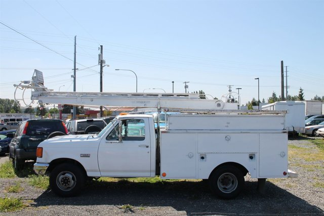 1987 FORD COMMERCIAL F350 BOOM LIFT MAN LIFT