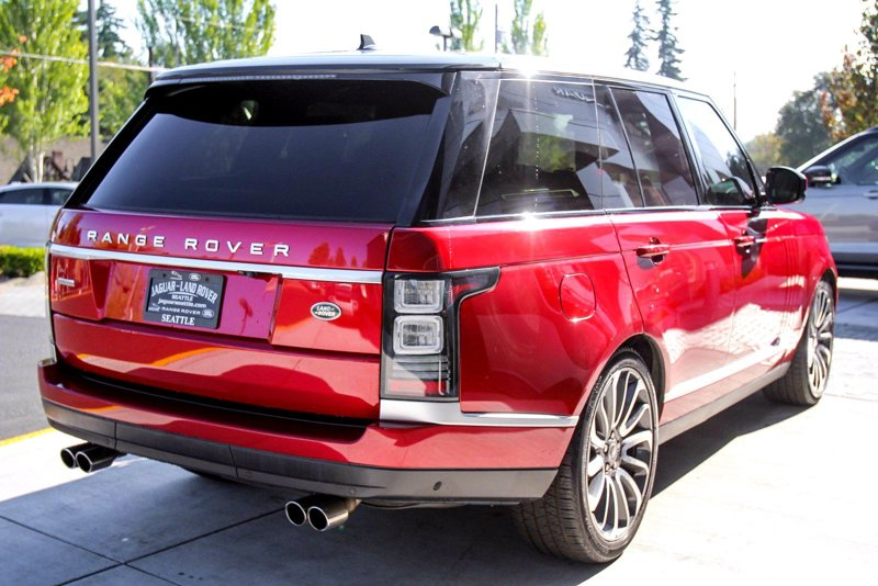 2016 Land Rover Range Rover Supercharged Sport Utility