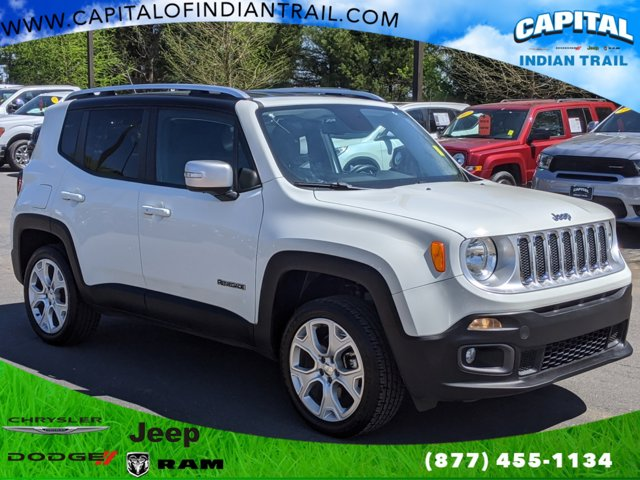 Alpine White 2015 Jeep Renegade LIMITED Sport Utility Indian Trail NC