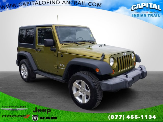 Rescue Green Metallic 2007 Jeep Wrangler X Convertible Indian Trail NC