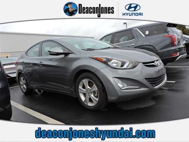 Galactic Gray 2016 Hyundai Elantra VALUE EDITION 4dr Car