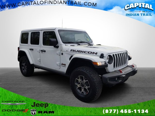 Bright White Clearcoat 2018 Jeep Wrangler Unlimited RUBICON Convertible Indian Trail NC