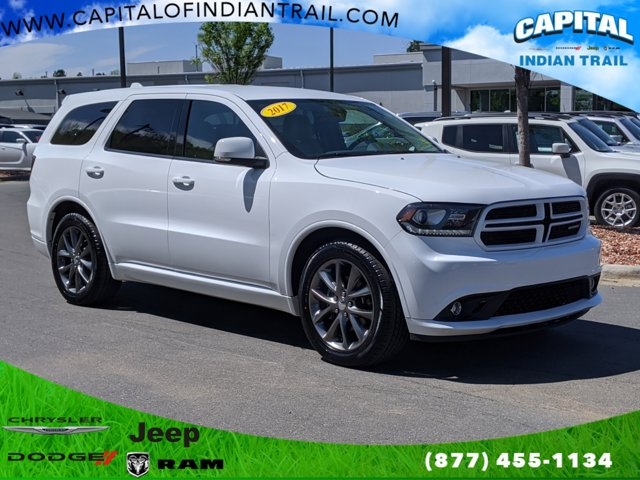 White Knuckle Clearcoat 2017 Dodge Durango GT Sport Utility Indian Trail NC
