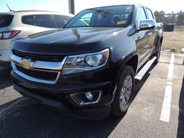 Black 2016 Chevrolet Colorado 2WD LT Crew Cab Pickup