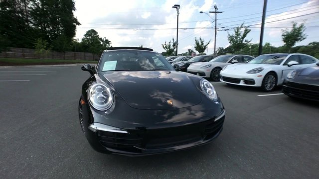2016 Porsche 911 CARRERA BLACK EDITION Coupe Apex NC