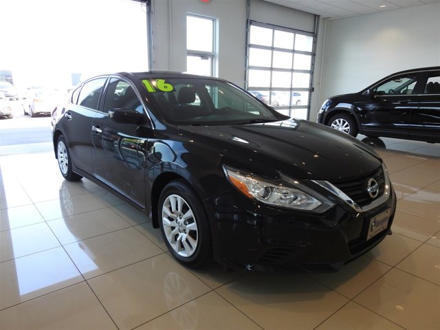 Super Black 2016 Nissan Altima 2.5 S 4dr Car