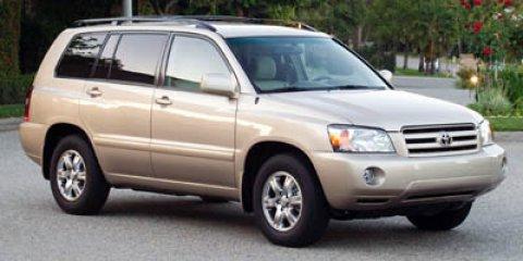 2005 Toyota Highlander BASE 4D Sport Utility