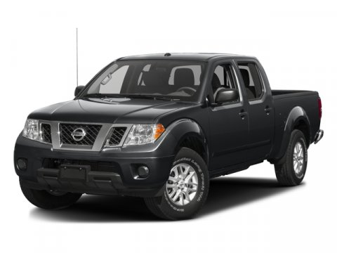 White 2016 Nissan Frontier SV Crew Cab Pickup  NC