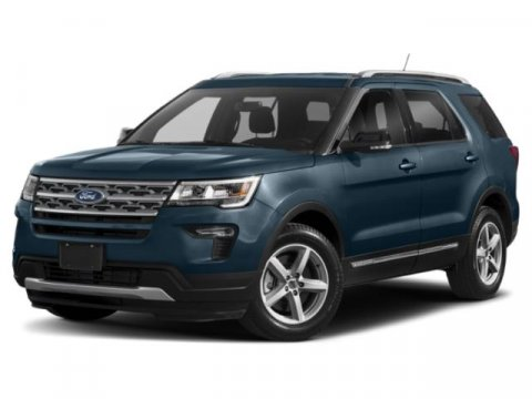 Ingot Silver 2018 Ford Explorer XLT 4D Sport Utility  NC