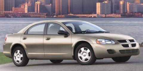 2005: Dodge, Stratus Sdn, SXT, 4dr Car
