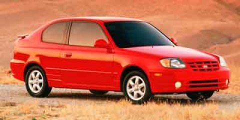 2003: Hyundai, Accent, GL, 2dr Car