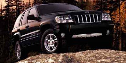 2004: Jeep, Grand Cherokee, Laredo, Sport Utility