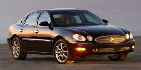 2006: Buick, LaCrosse, CXS, 4dr Car