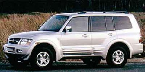 2001: Mitsubishi, Montero, XLS, Sport Utility