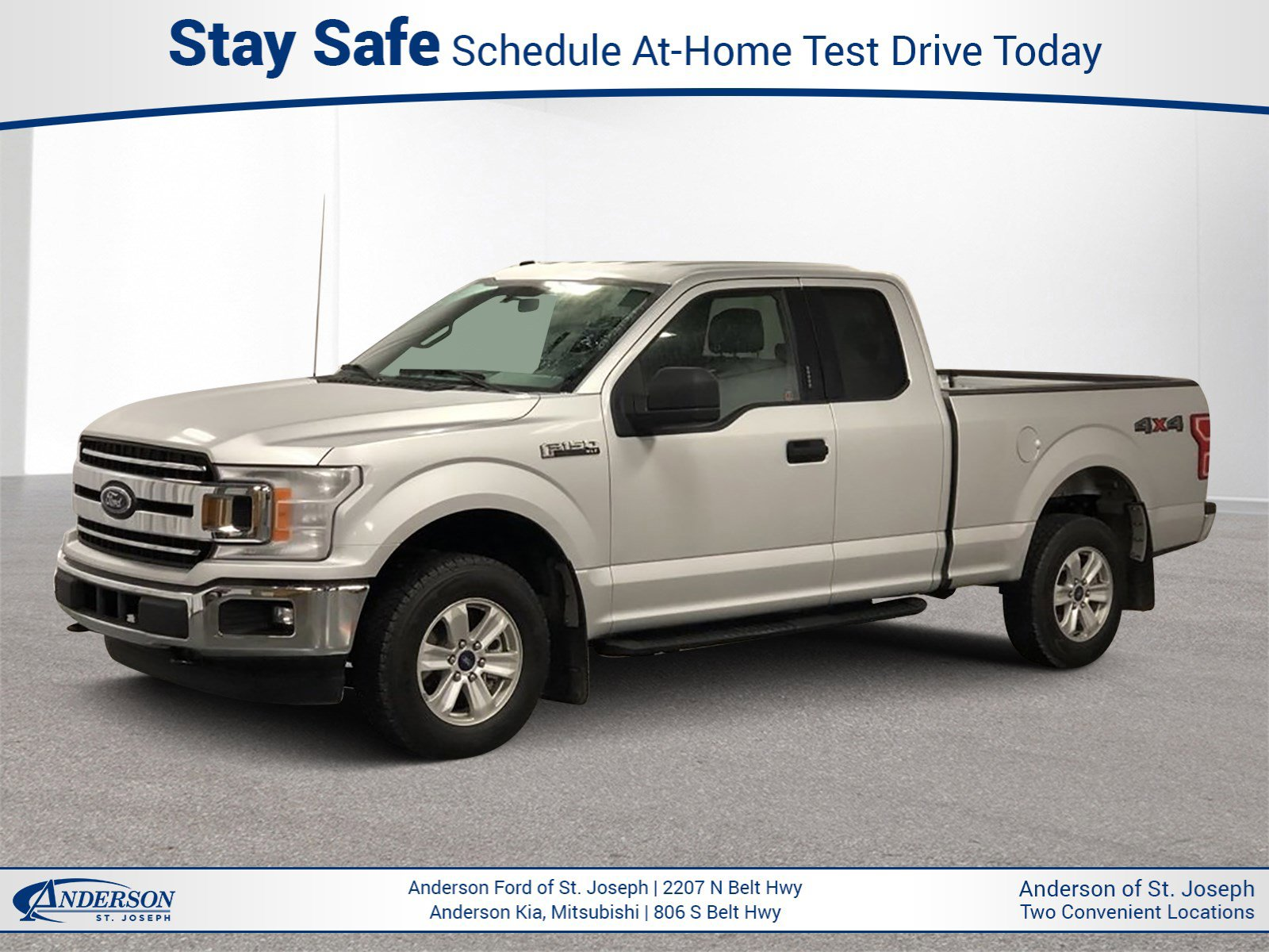 Used 2018 Ford F-150 XLT Extended Cab Pickup for sale in St Joseph MO