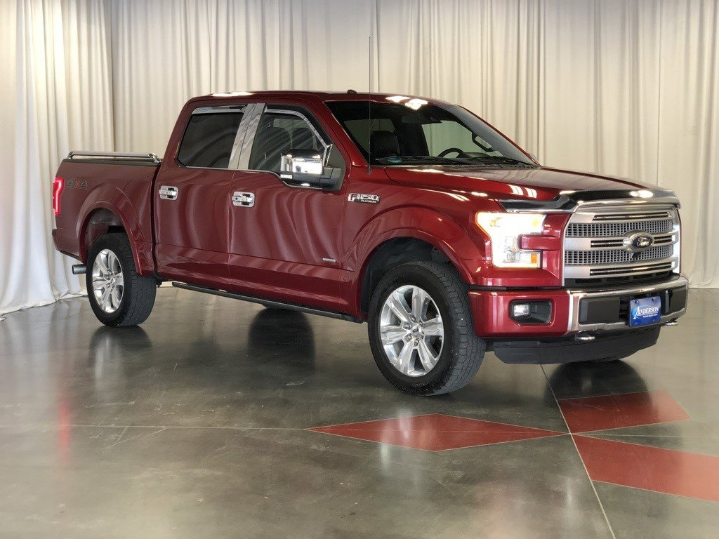 Used 2016 Ford F-150 Platinum Crew Cab Pickup for sale in St Joseph MO