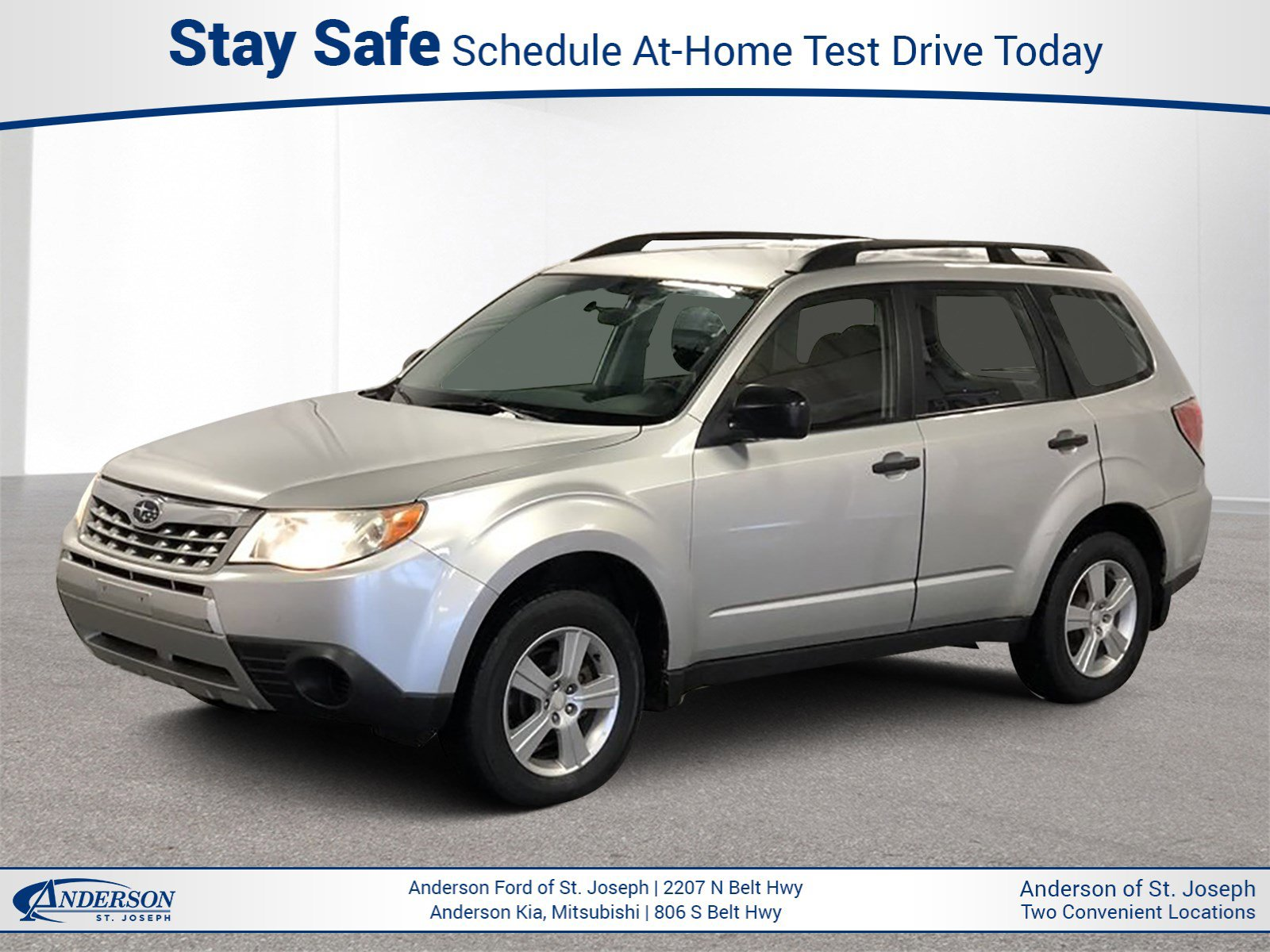 Used 2011 Subaru Forester 2.5X Sport Utility for sale in St Joseph MO