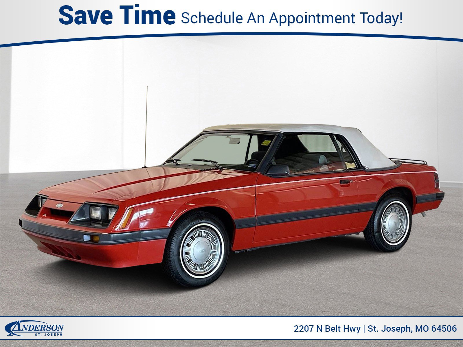 Used 1986 Ford Mustang LX 2D Convertible for sale in St Joseph MO