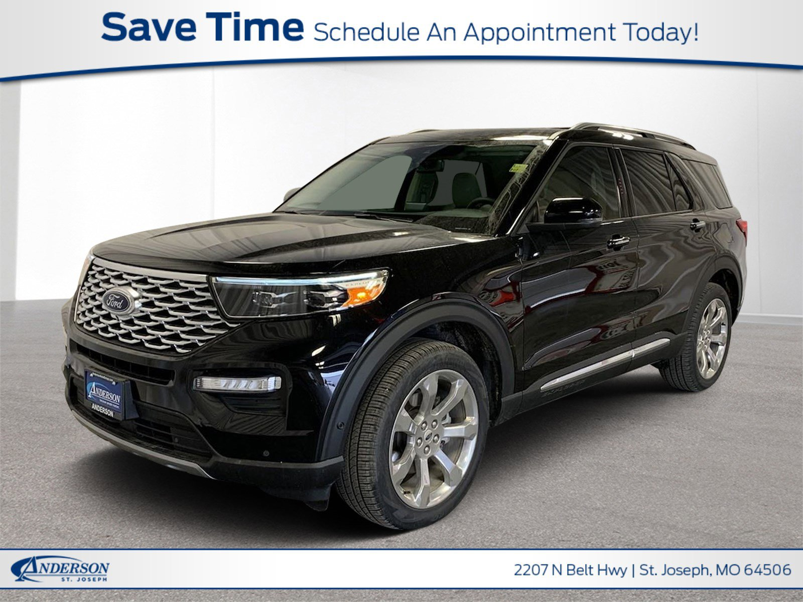 New 2020 Ford Explorer Platinum Sport Utility for sale in St Joseph MO