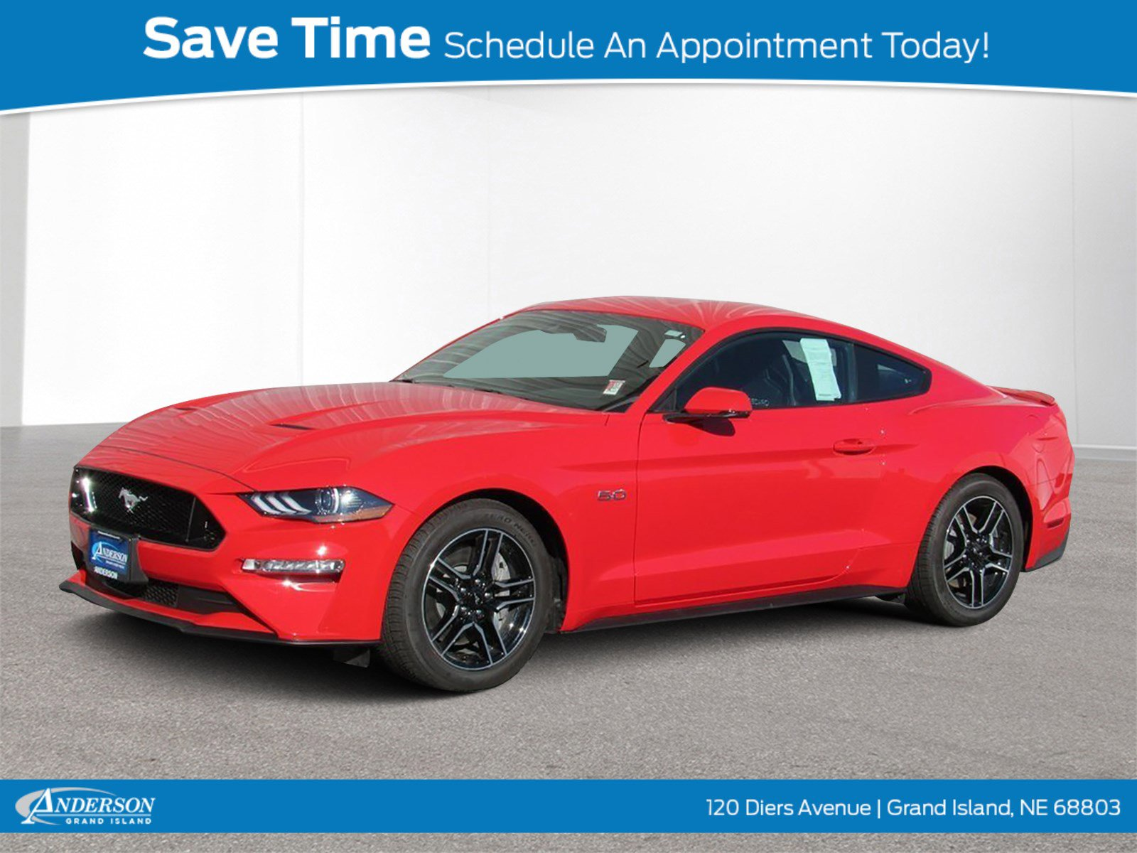 New 2019 Ford Mustang GT Premium 2D Coupe for sale in Grand Island NE